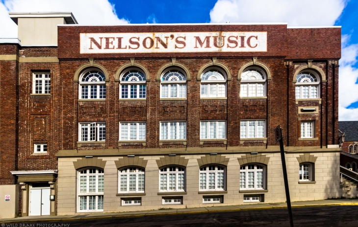 ... Nelson's Music on the side.