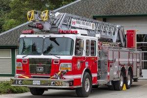 Sooke Fire Truck
