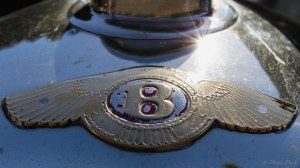 Bentley Convertible Hood Ornament