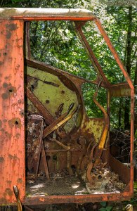 old mining equipment