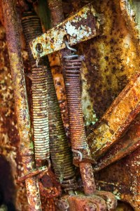 old rusty springs