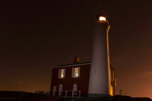 Fisgard Lighthouse under the stars