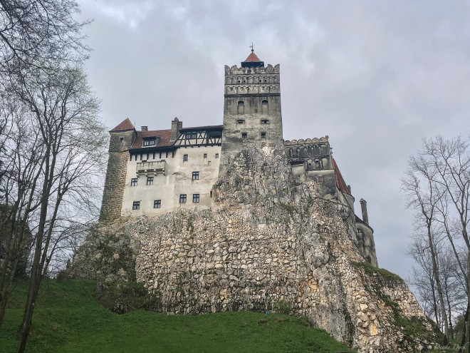 old castle in Transylvania