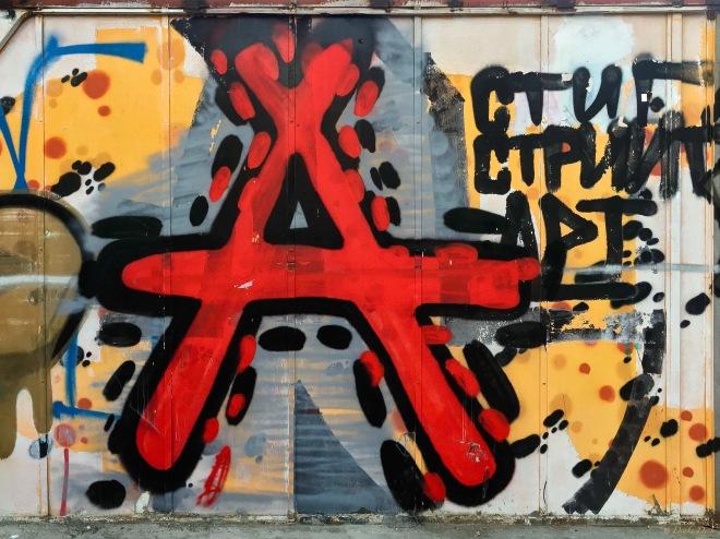 grafitti a varna