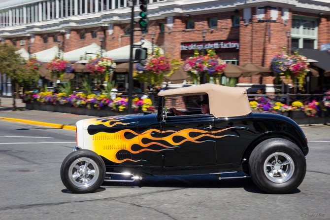 32 Forde Deuce Coupe in front of the Old Spaghetti Factory in Victoria BC