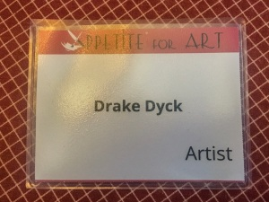 Artist name tag