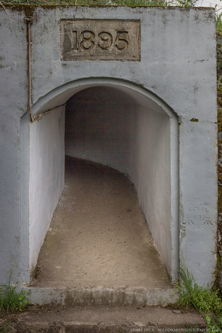 a small tunnel built in 1895