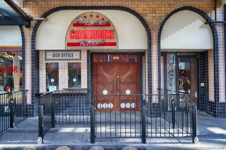 historic, Art Deco, club in Vancouver